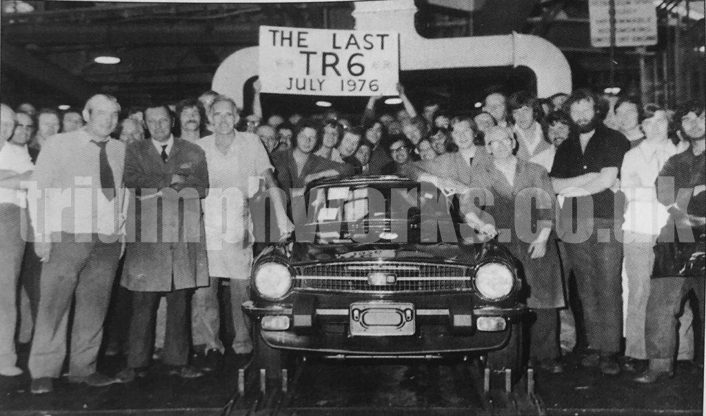 The last Triumph TR6
