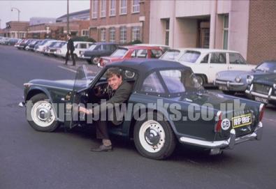 Triumph factory 1967 TR4