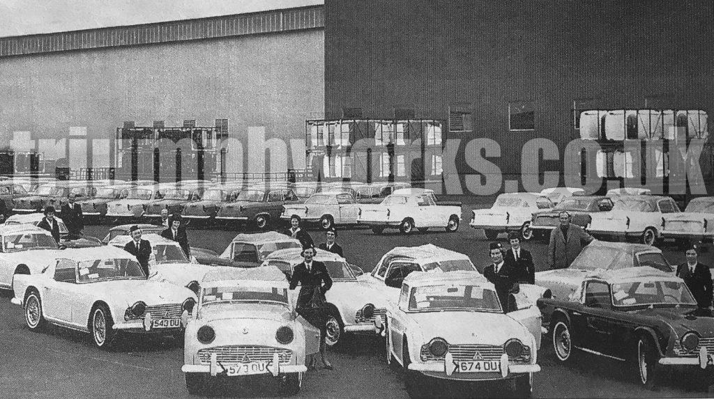 Canley deliveries Standard Triumph