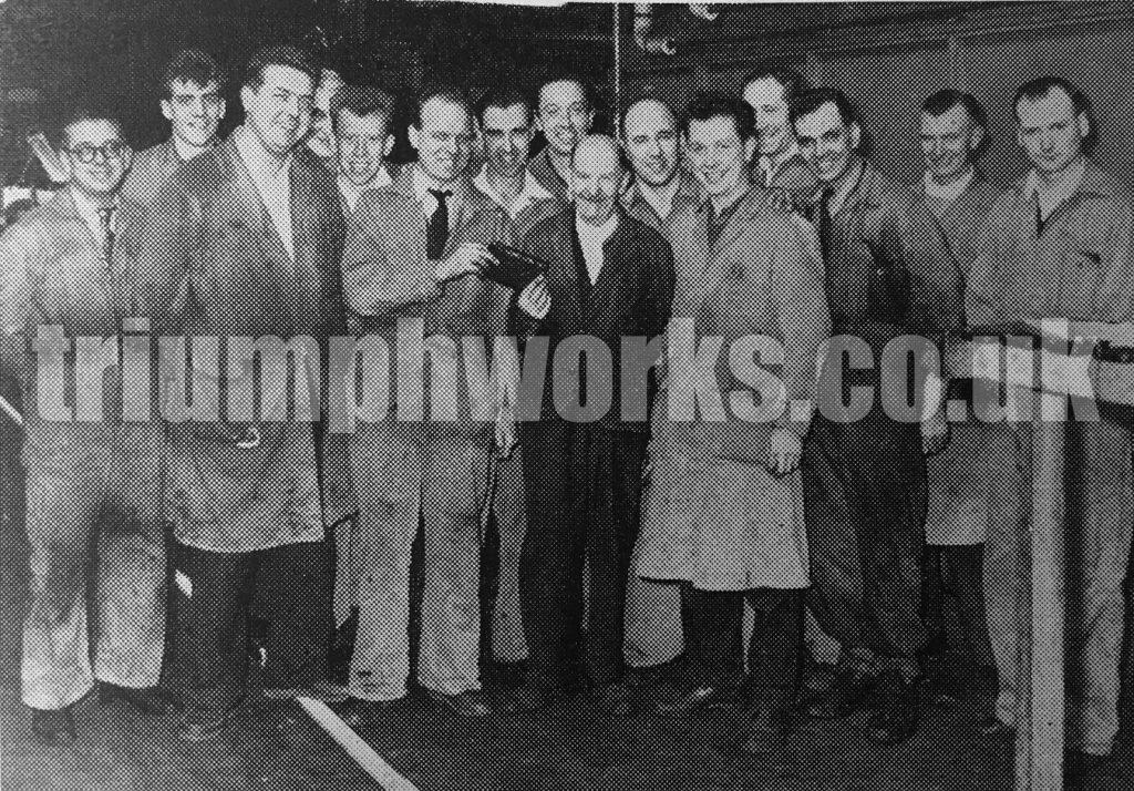Fred West Retires Standard Triumph 1959