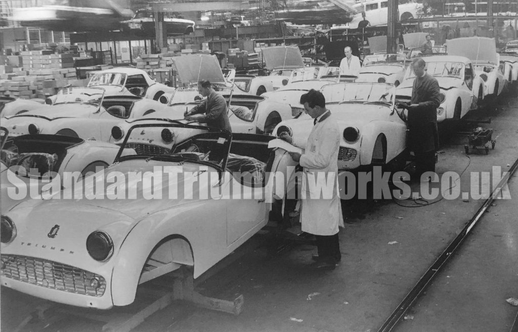Mulliners Car Inspection at Triumph