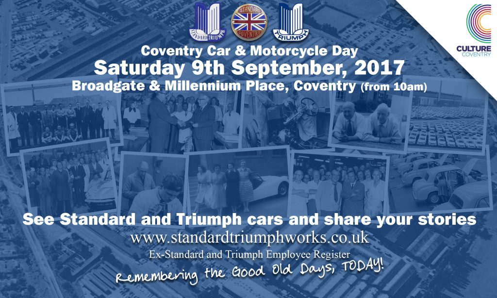 Coventry Car Day 9th September, 2017