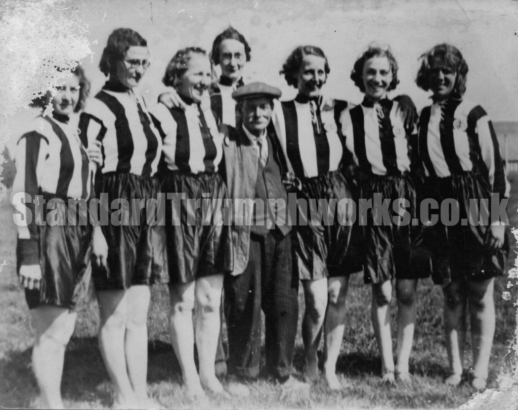 Standard Triumph Ladies Football Team