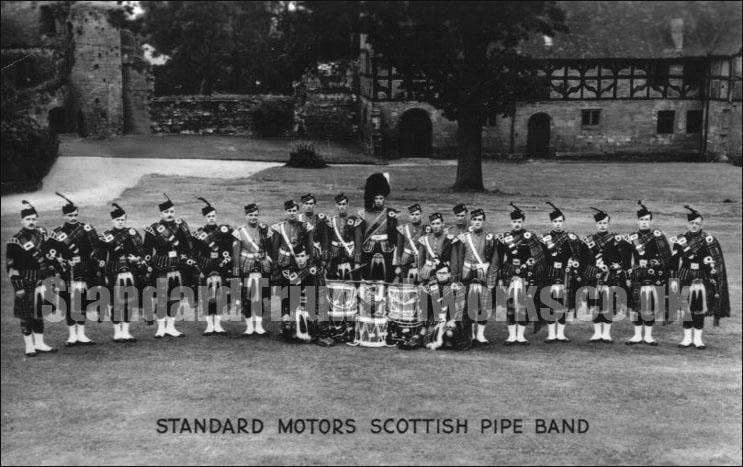 Standard Motors Scottish Pipe Band