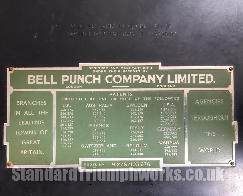Bell Punch Company Ltd