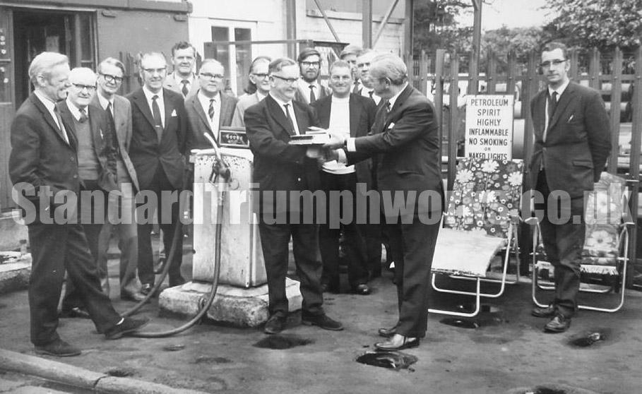 Ivor Evans Standard Triumph