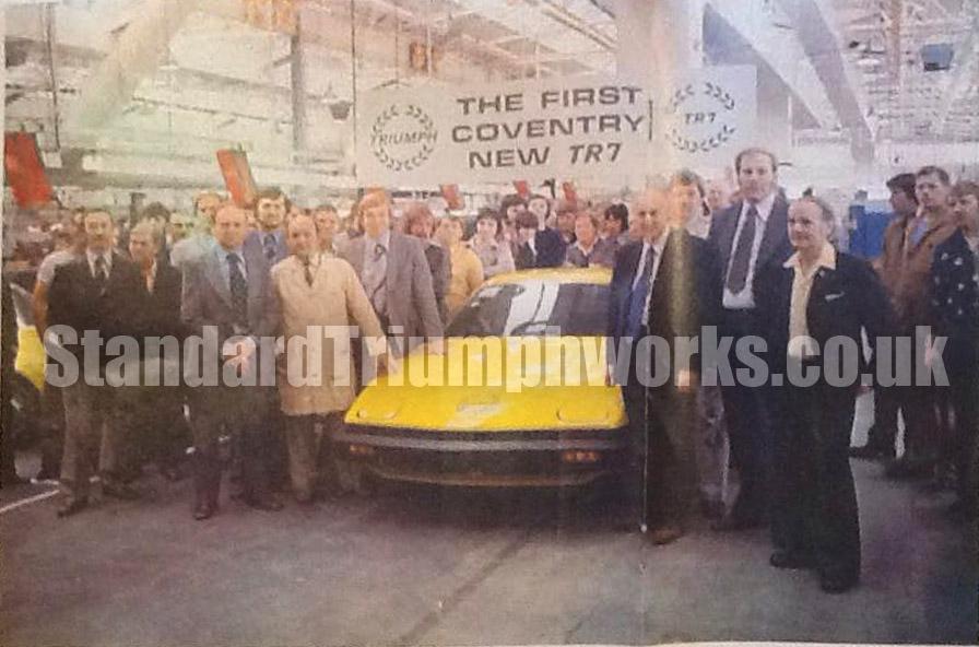 Coventry Triumph TR7
