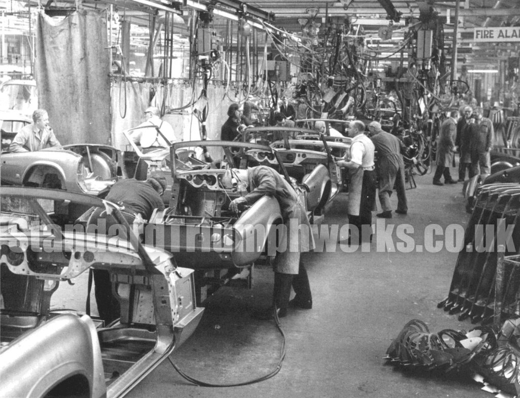 Triumph Spitfire Factory Photo
