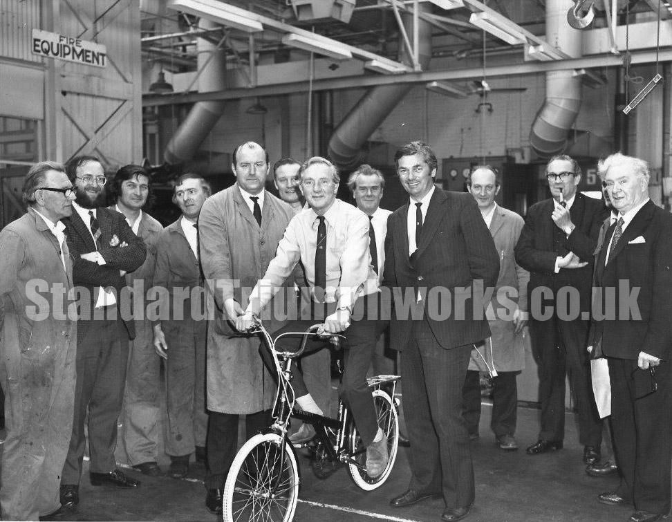 Norman Evans Standard Triumph