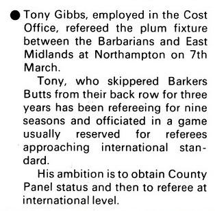 Tony Gibbs Standard Triumph