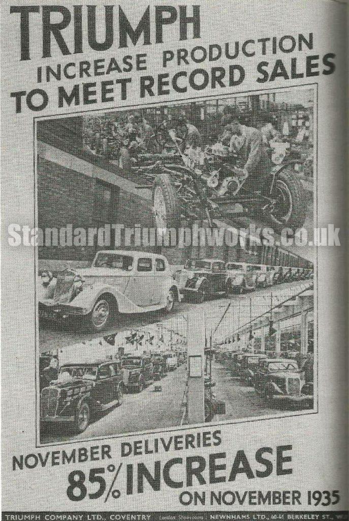 triumph factory 1935