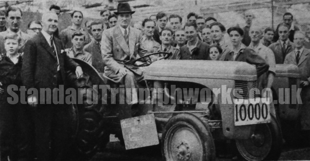 Ferguson Tractor Banner Lane