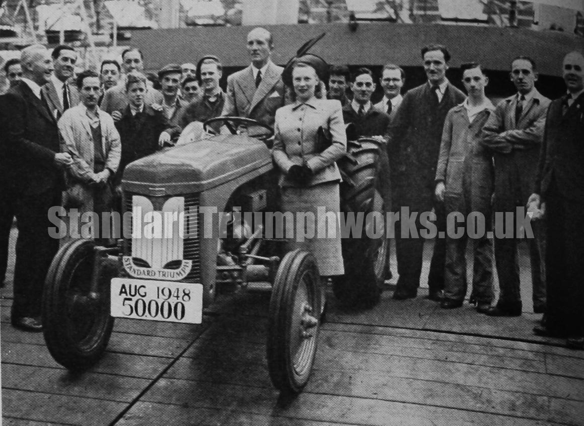 50000 ferguson tractor