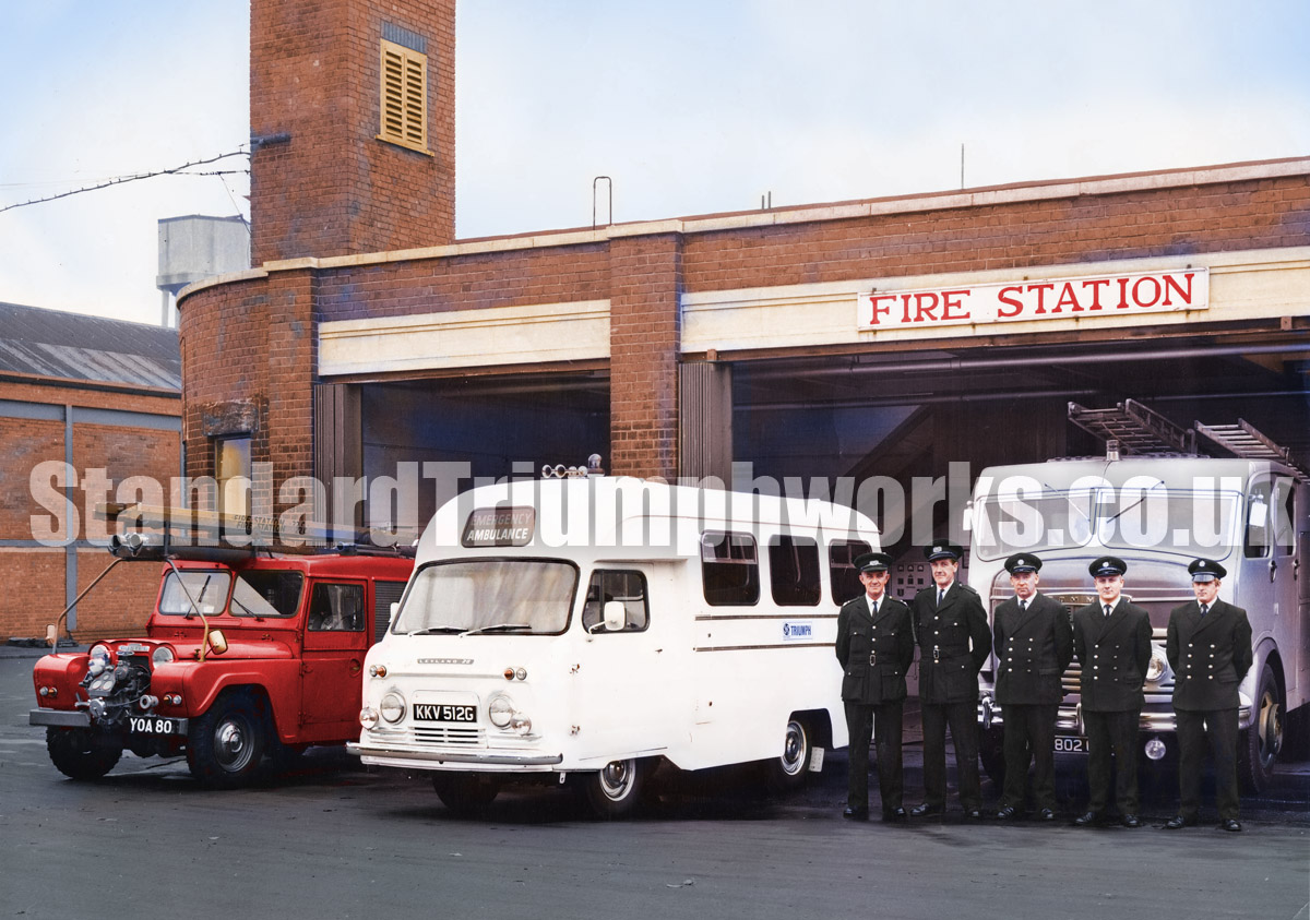 Canley fire station Triumph