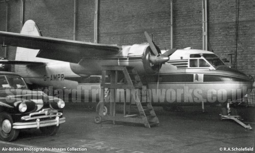 standard triumph plane