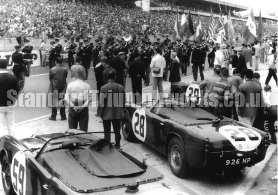 Triumph at Le Mans