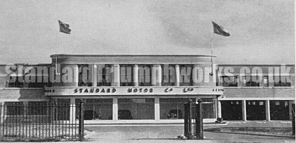 standard motors 1936