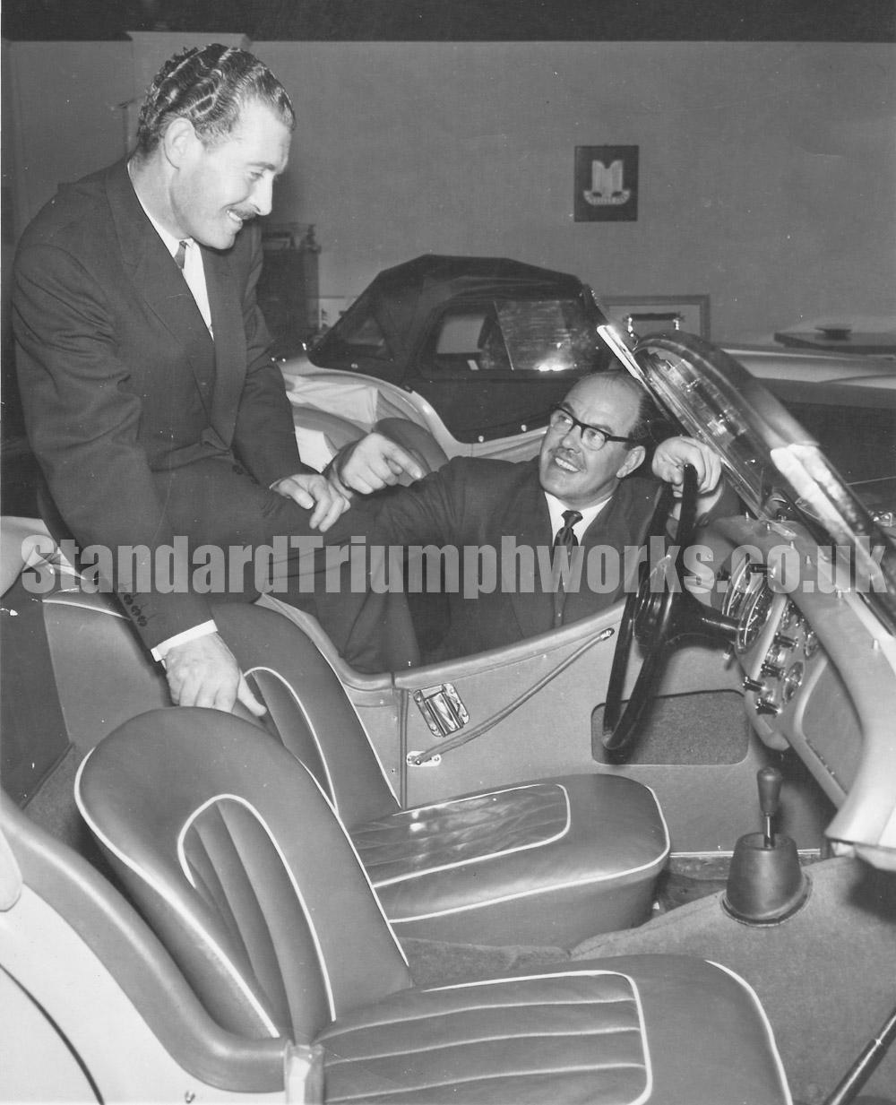 frank gentle Standard Triumph