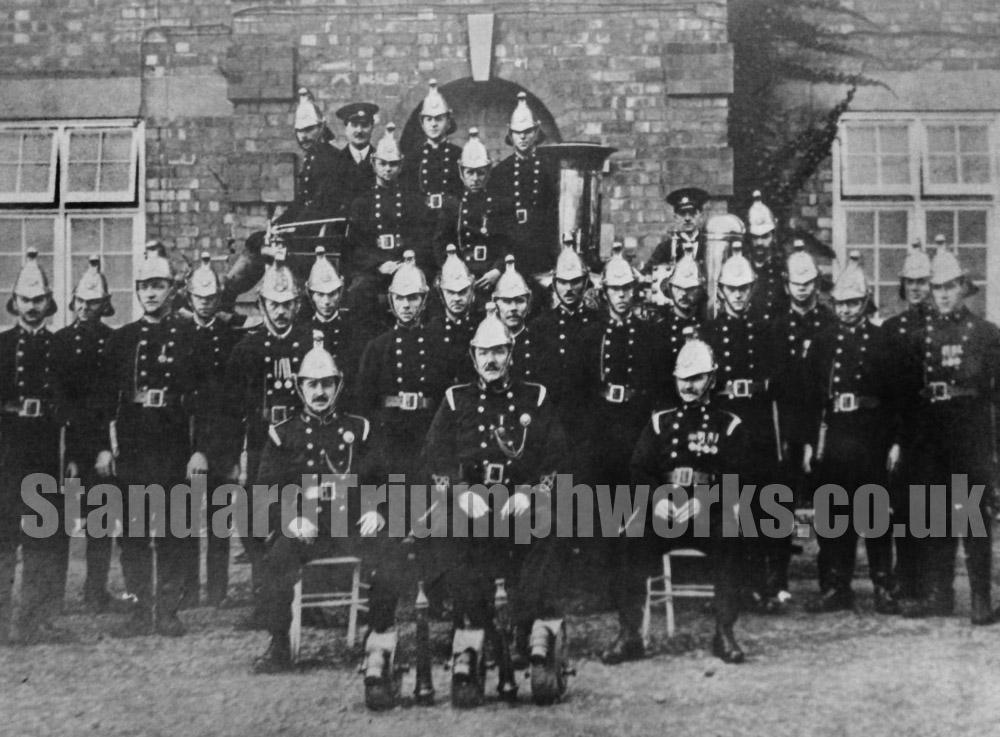 standard firemen 1910