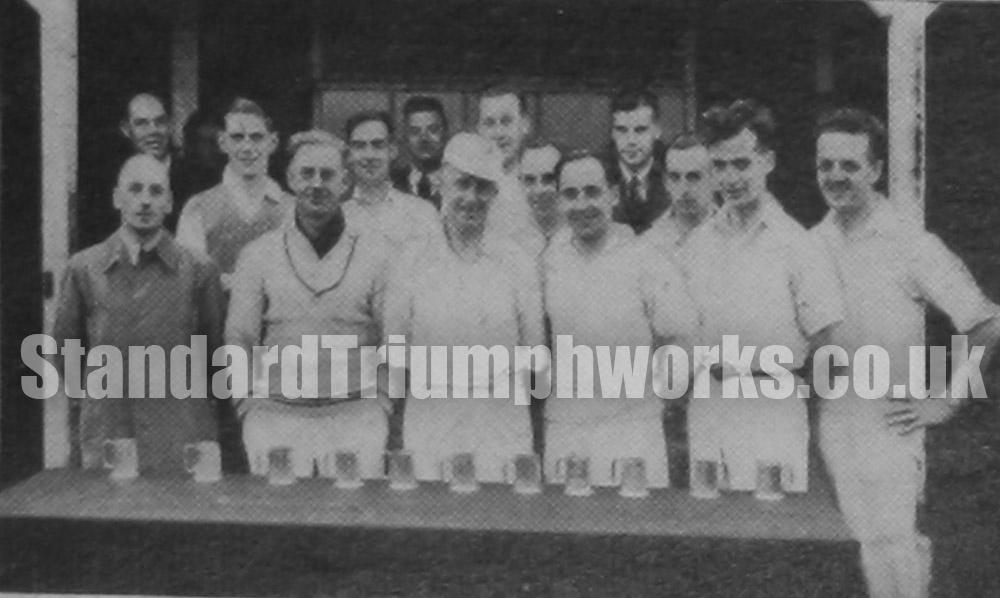cricket standard triumph