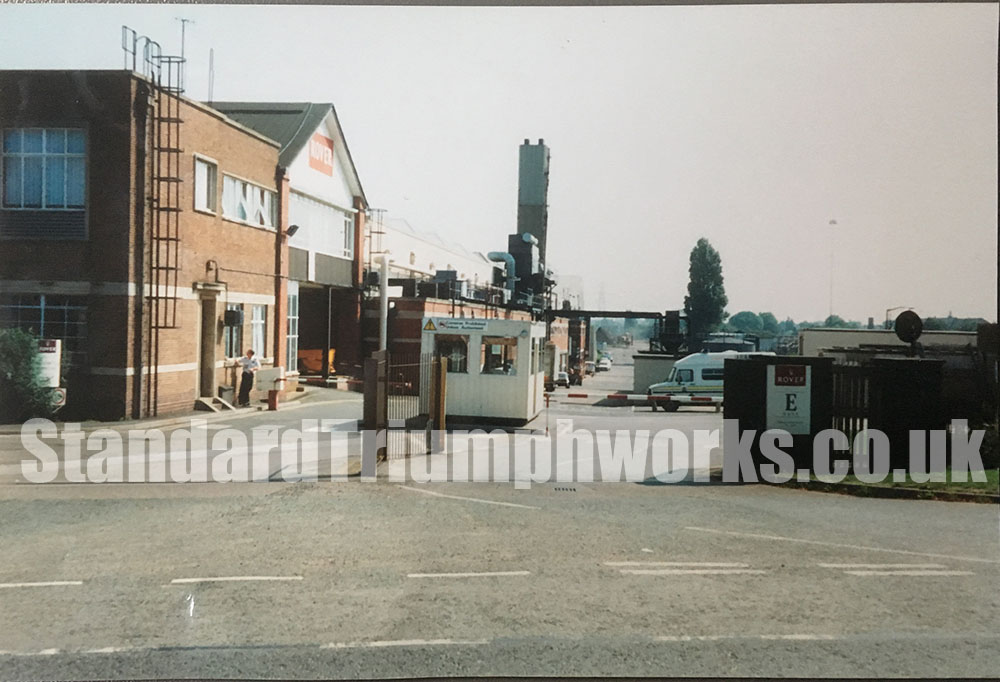 Canley coventry Standard Triumph