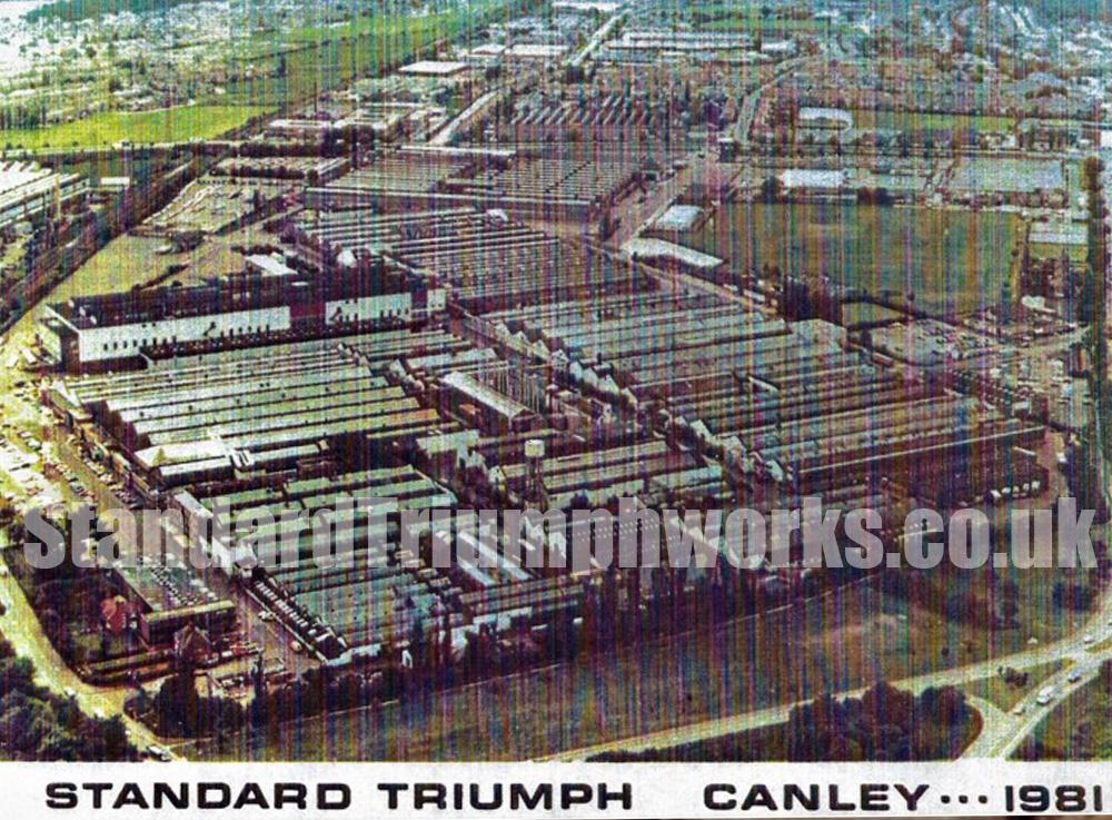 Triumph Canley 1981