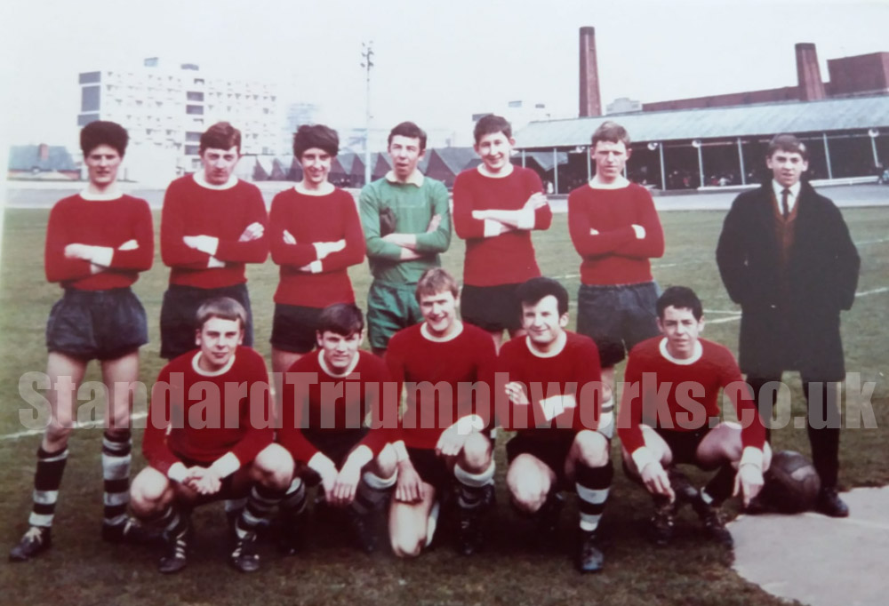 standard triumph apprentice football team