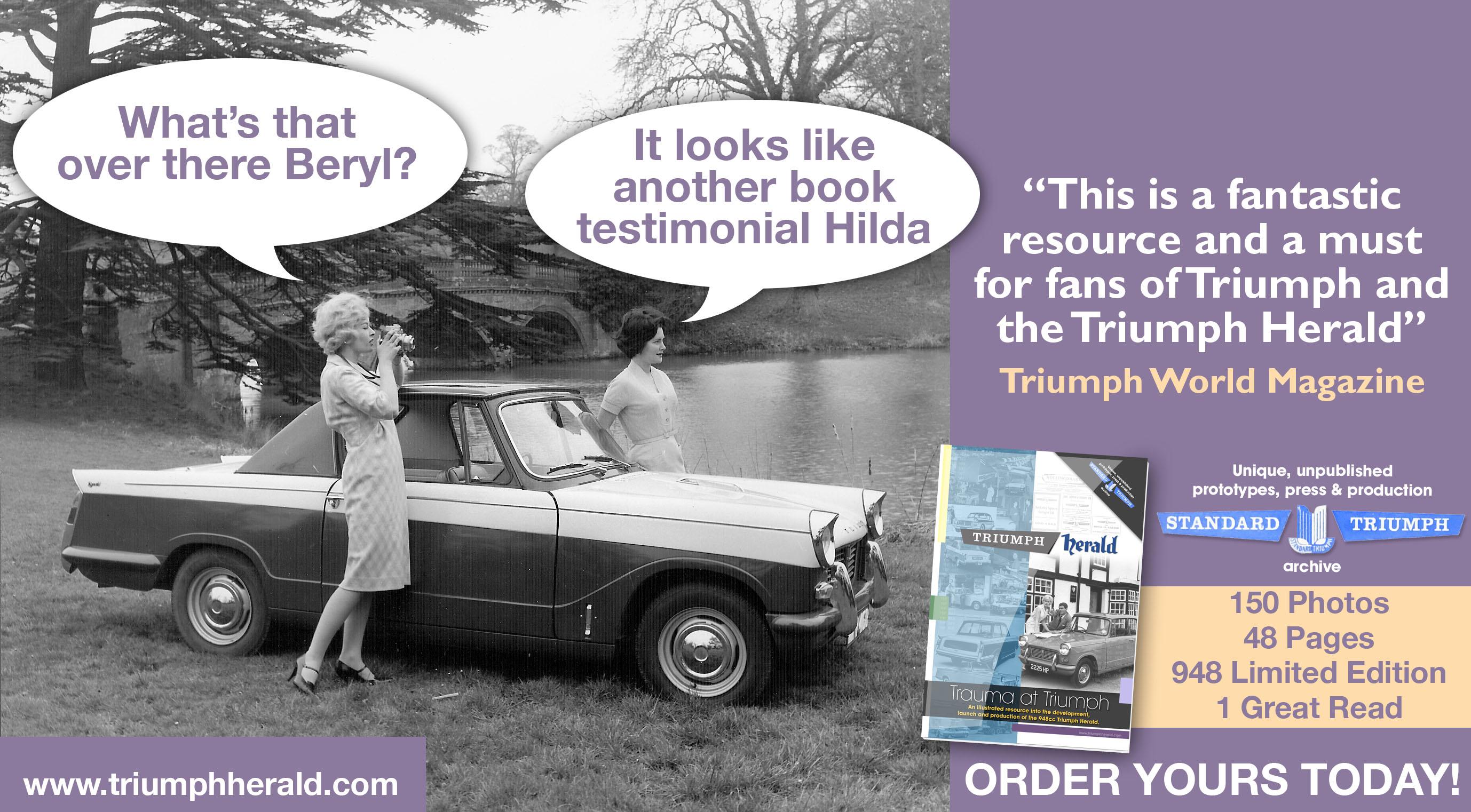 Triumph Herald Book