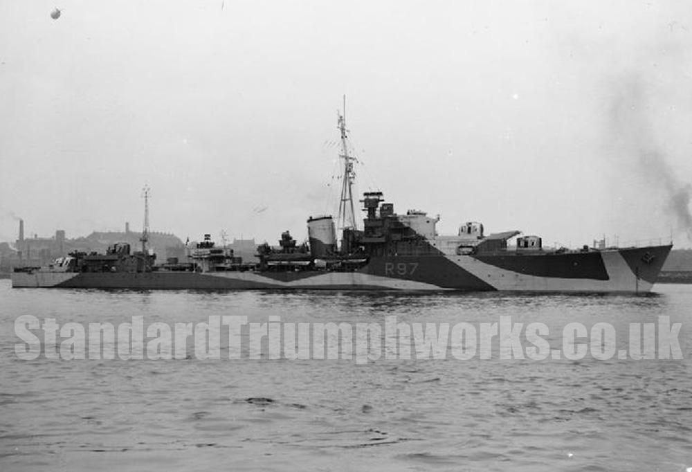 HMS Grenville 1943