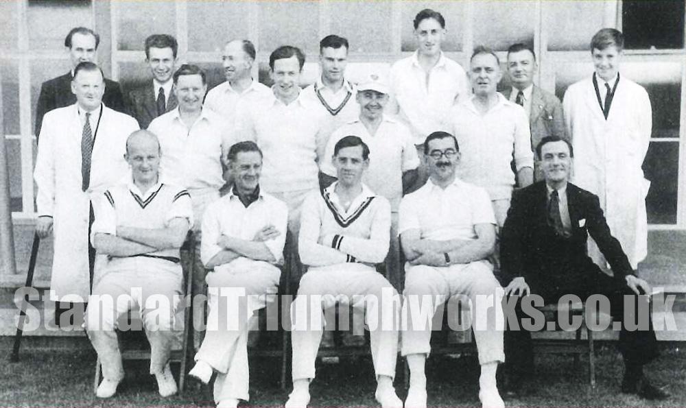 Standard Triumph Cricket Team