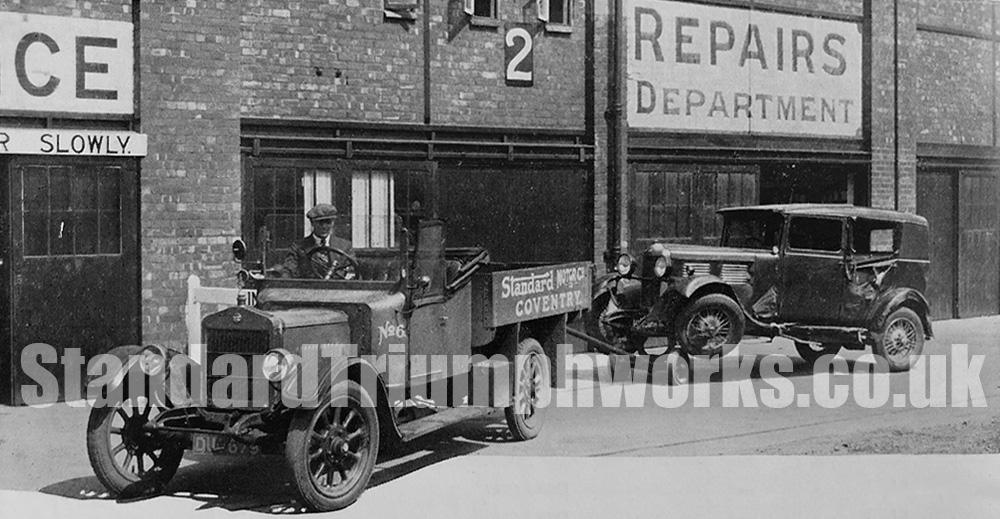 repairs dept Standard Motor Co