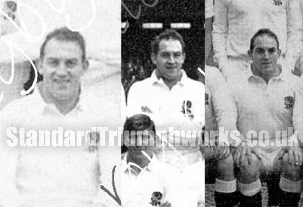 Bert Godwin England Rugby