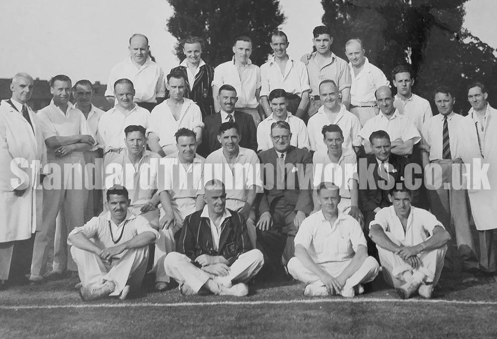 standard motors cricket team
