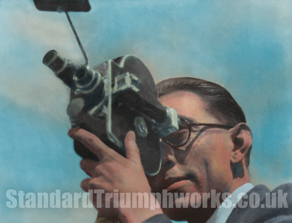 Frank Callaby Standard Triumph