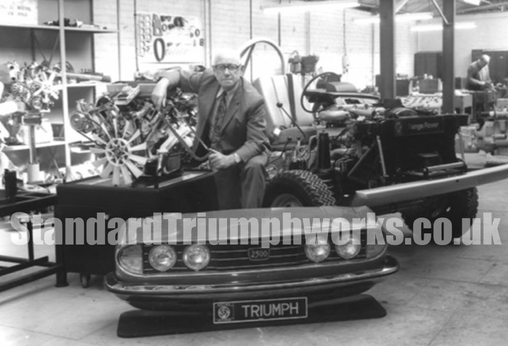 Frank Perkins Standard Triumph
