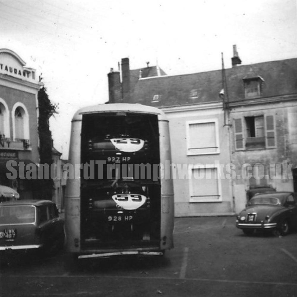 TRS Le Mans transporter