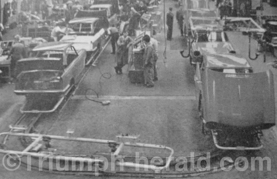 Triumph Factory 1959