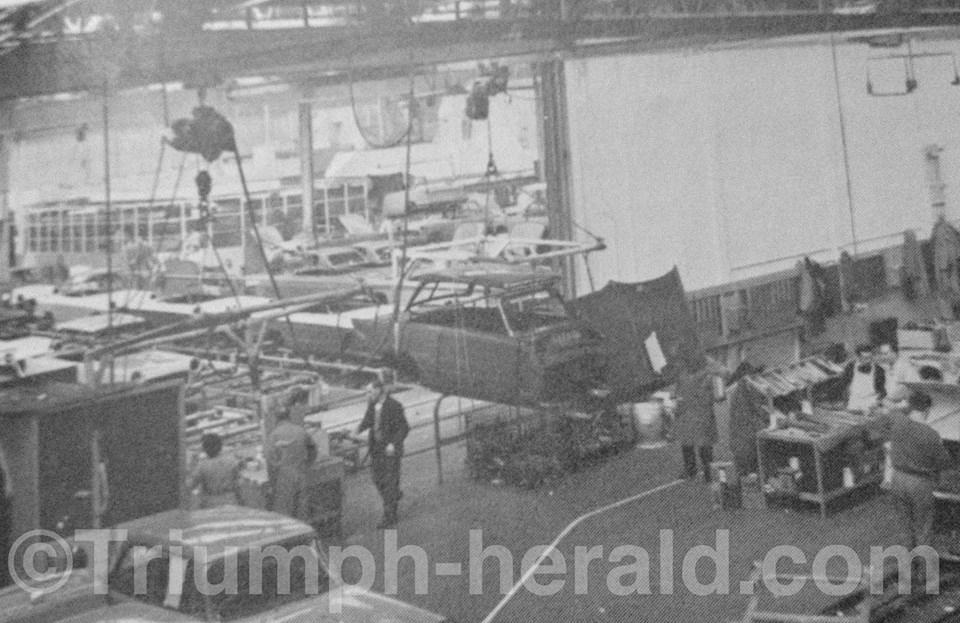 Triumph Factory c1959