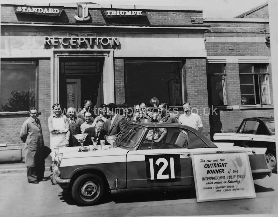 Triumph Factory, 1961