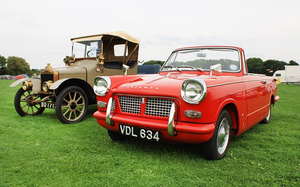 Triumph Herald and Standard Car