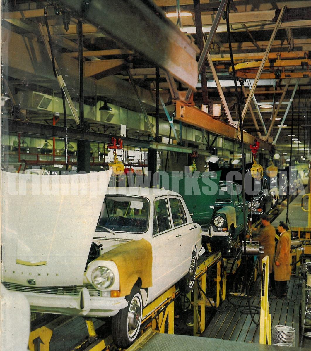 Triumph Factory 1968
