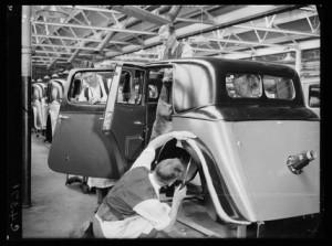 Triumph Works 1933