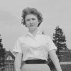 1959 lady (B&W)