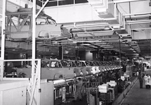 Triumph Factory c1961